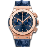 Blue Chronograph King Gold 45 mm