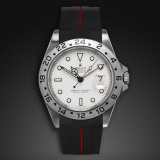 Explorer II 40 Tang Buckle Series VulChromatic Jet Black Red Devil