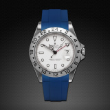 Explorer II 40 Tang Buckle Series Pacific Blue
