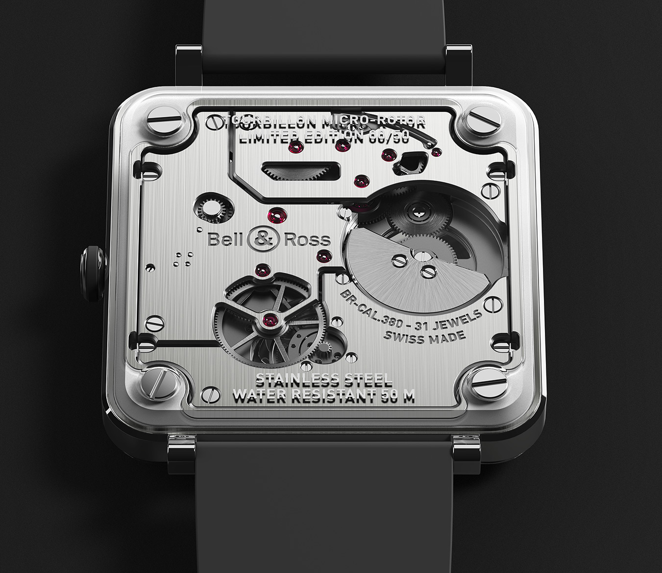 Bell & Ross BR-X2 Tourbillon Micro-Rotor BRX2-TBMR-ST