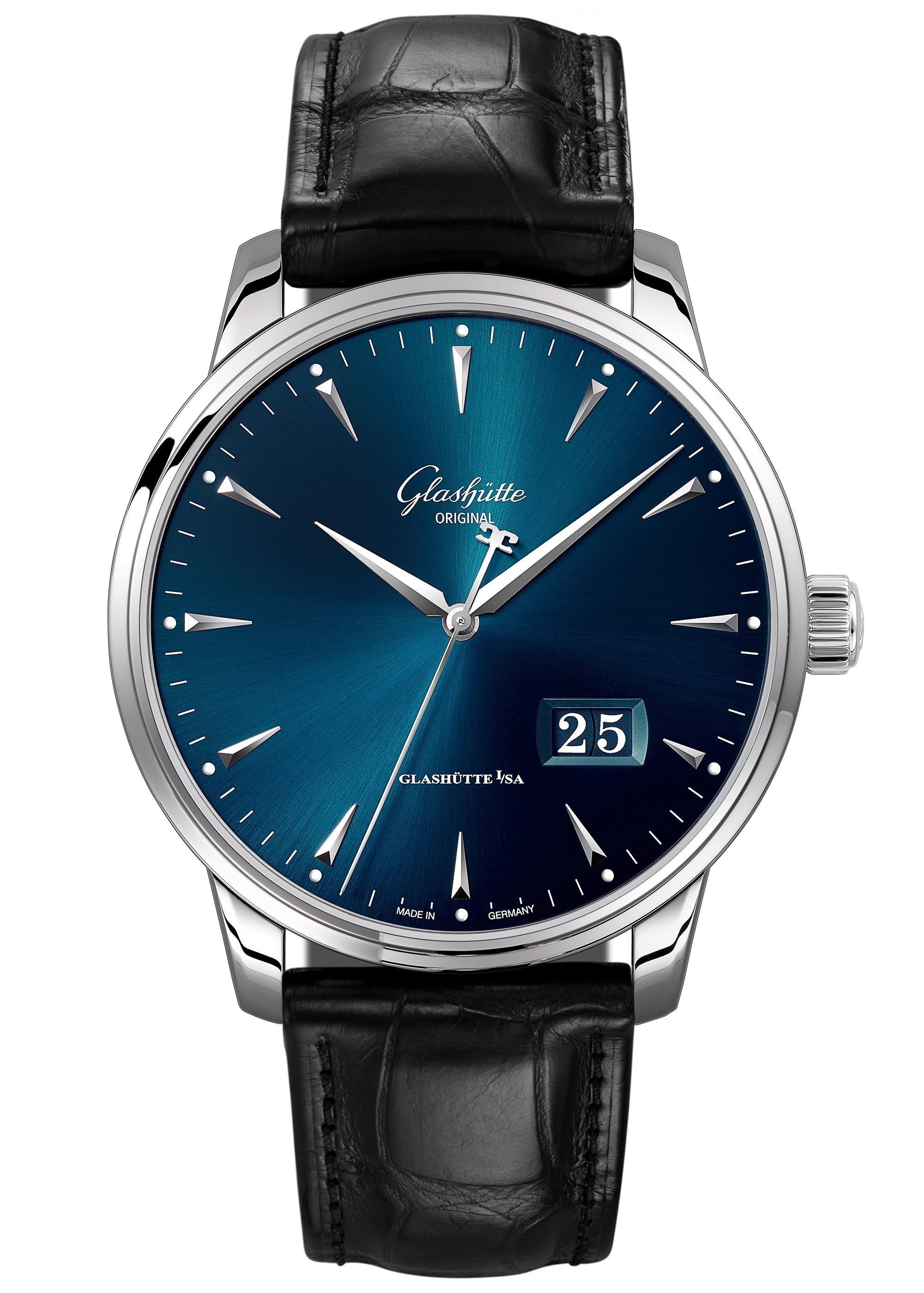 Glashutte Excellence Panorama Date «Fold clasp» 1-36-03-04-02-30