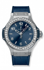 Steel Blue Diamonds 38 mm