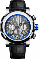 Steampunk Chrono Blue