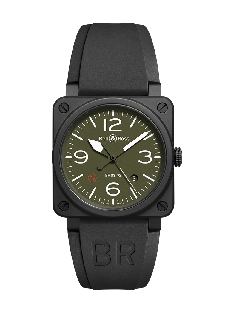 Bell & Ross BR 03-92 MILITARY TYPE BR0392-MIL-CE