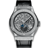 Aerofusion Moonphase Titanium 45 mm
