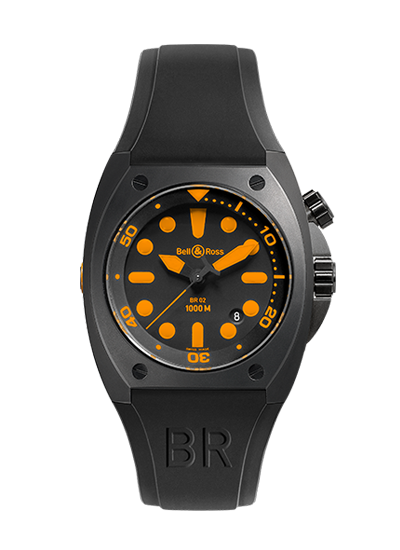 Bell & Ross BR 02-92 ORANGE BR02-ORANGE