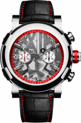 Steampunk Chrono Red