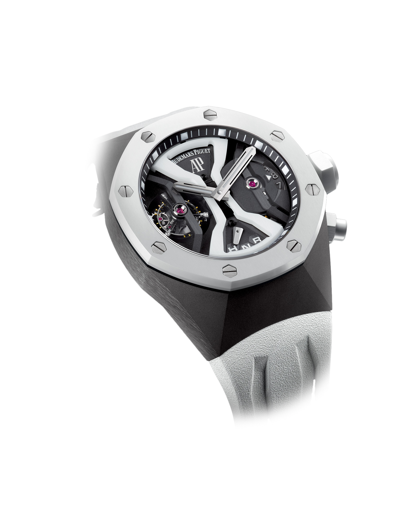 Часы Audemars Piguet TOURBILLON CONCEPT GMT  26580IO.OO.D010CA.01 — additional thumb 2