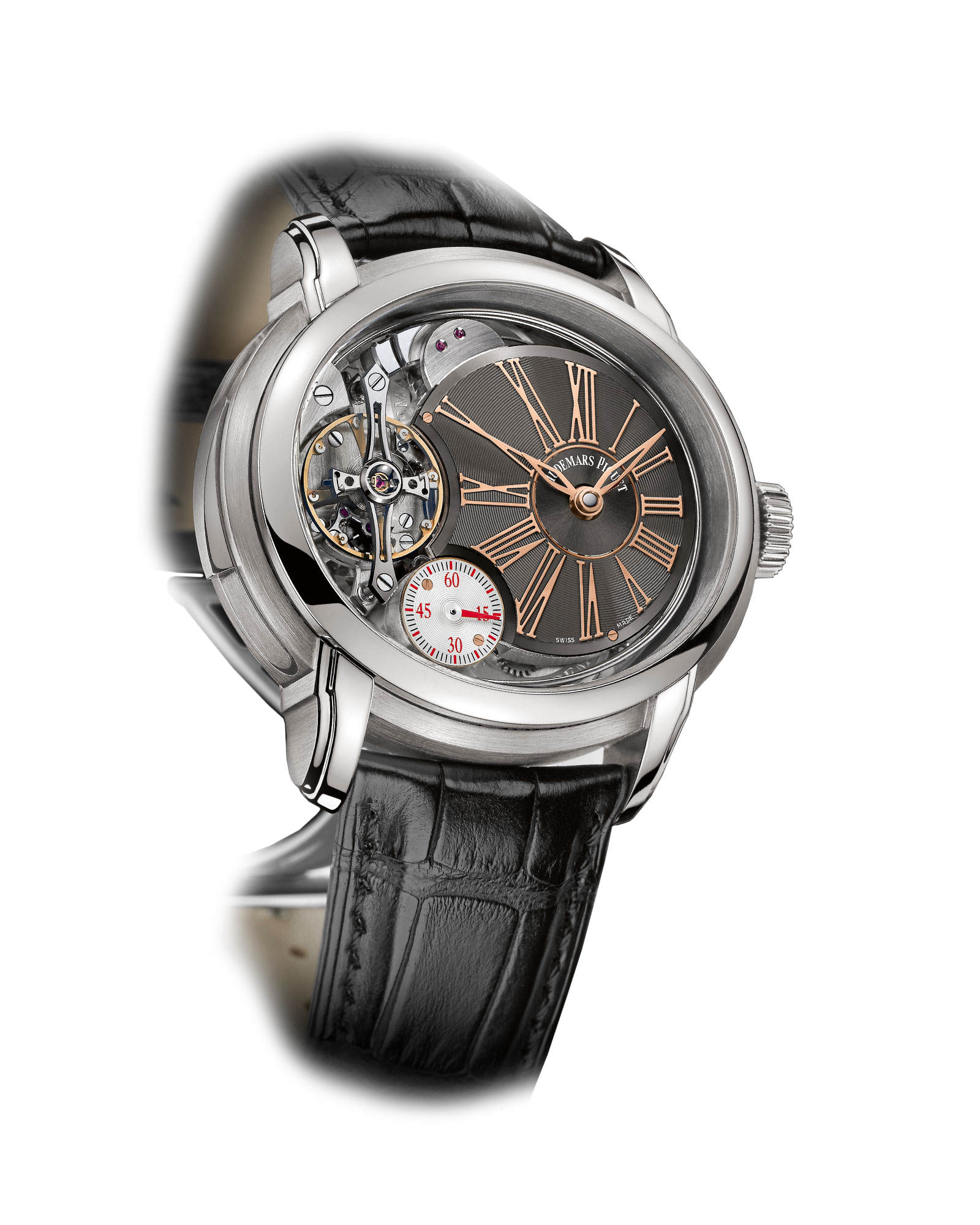 Audemars Piguet MINUTE REPEATER WITH AP ESCAPEMENT  26371TI.OO.D002CR.01