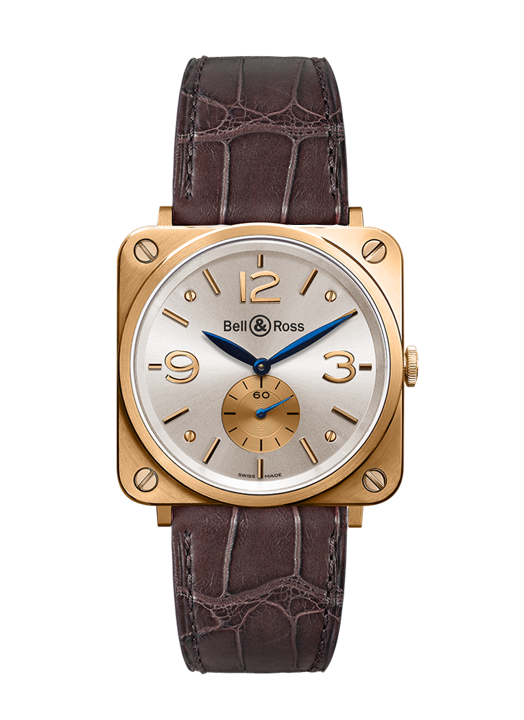 Bell & Ross BR S ROSE GOLD PEARL DIAL BRS-PKGOLD-PEARL_D