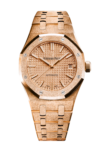 Audemars Piguet Frosted Gold Selfwinding 15454OR.GG.1259OR.03