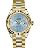 Lady-Datejust 28 Oyster Yellow gold