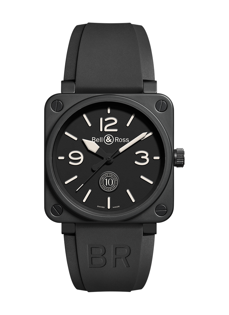 Bell & Ross BR 01 10TH ANNIVERSARY BR0192-10TH-CE