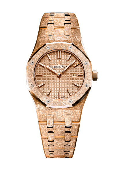 Audemars Piguet Frosted Gold Quartz 67653OR.GG.1263OR.02