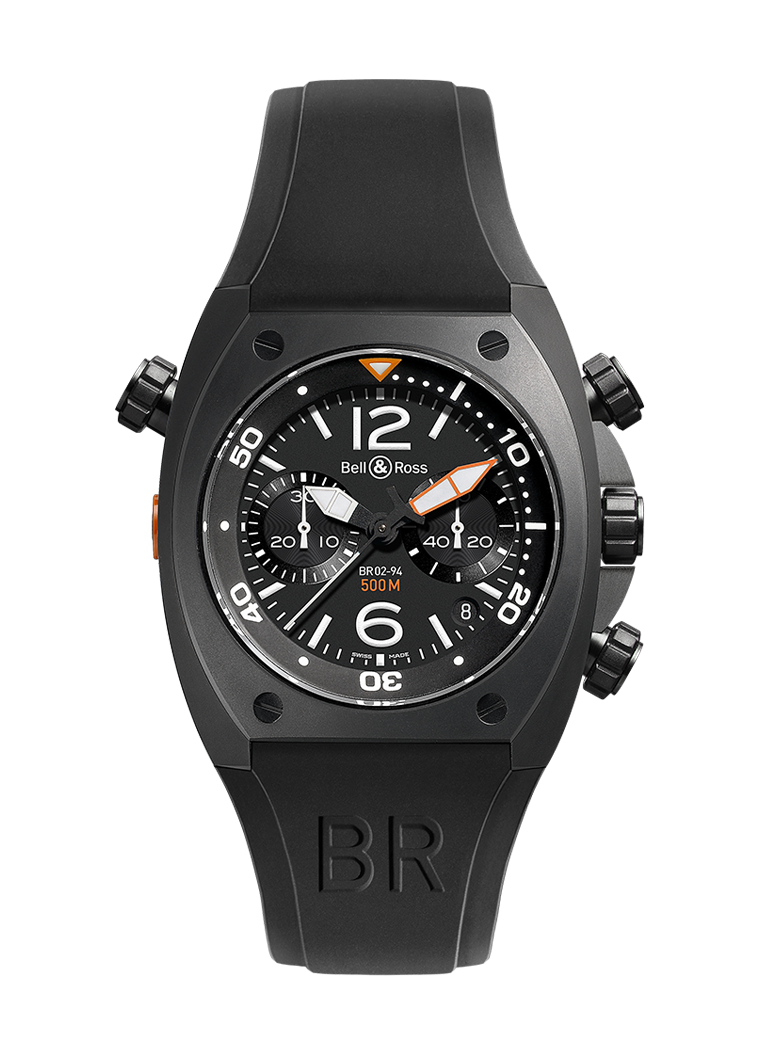 Bell & Ross BR 02-94 CARBON BR02-CHR-BL-CA