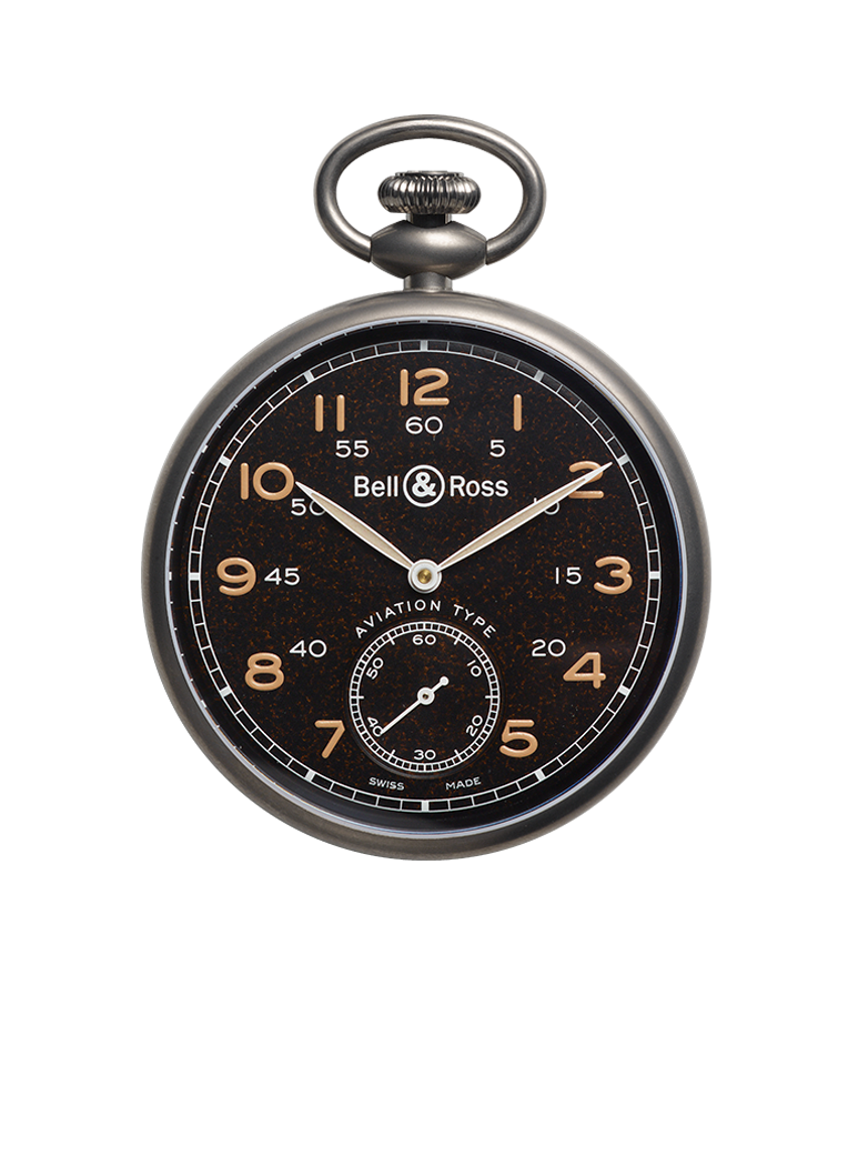 Bell & Ross PW1 HERITAGE BROWN DIAL BRPW1-BL-TI