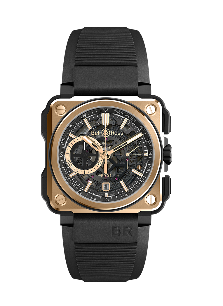 Bell & Ross BR-X1 ROSE GOLD & CERAMIC BRX1-CE-PG