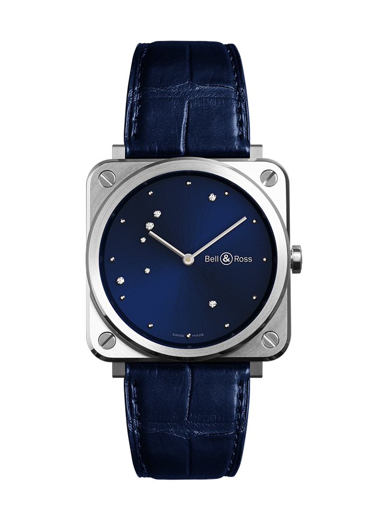 Bell & Ross Br S Blue Diamond Eagle BRS-EA-ST/SCR