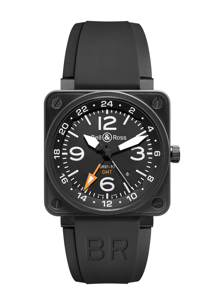 Bell & Ross BR 01-93 GMT 24H BR0193-GMT