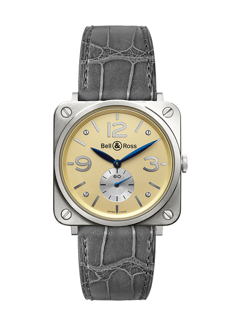 Bell & Ross BR S WHITE GOLD BRS-WHGOLD-IVORY_D