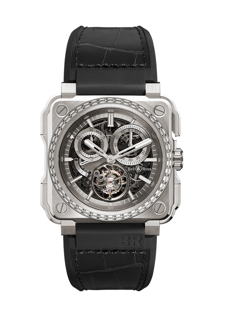 Bell & Ross BR-X1 TOURBILLON TITANIUM DIAMONDS BRX1-CHTB-TI-D