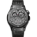 Tourbillon Skeleton All Black 45 mm