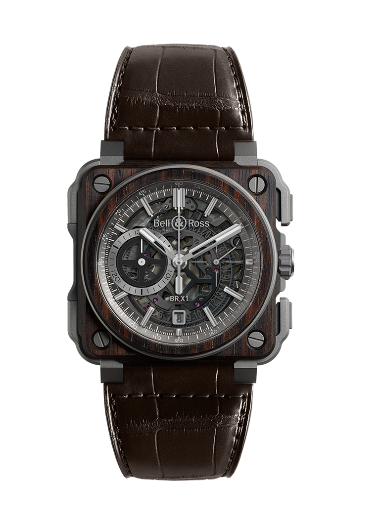 Bell & Ross BR-X1 WOOD BRX1-WD-TI