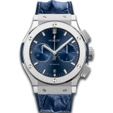 Blue Chronograph Titanium 45 mm