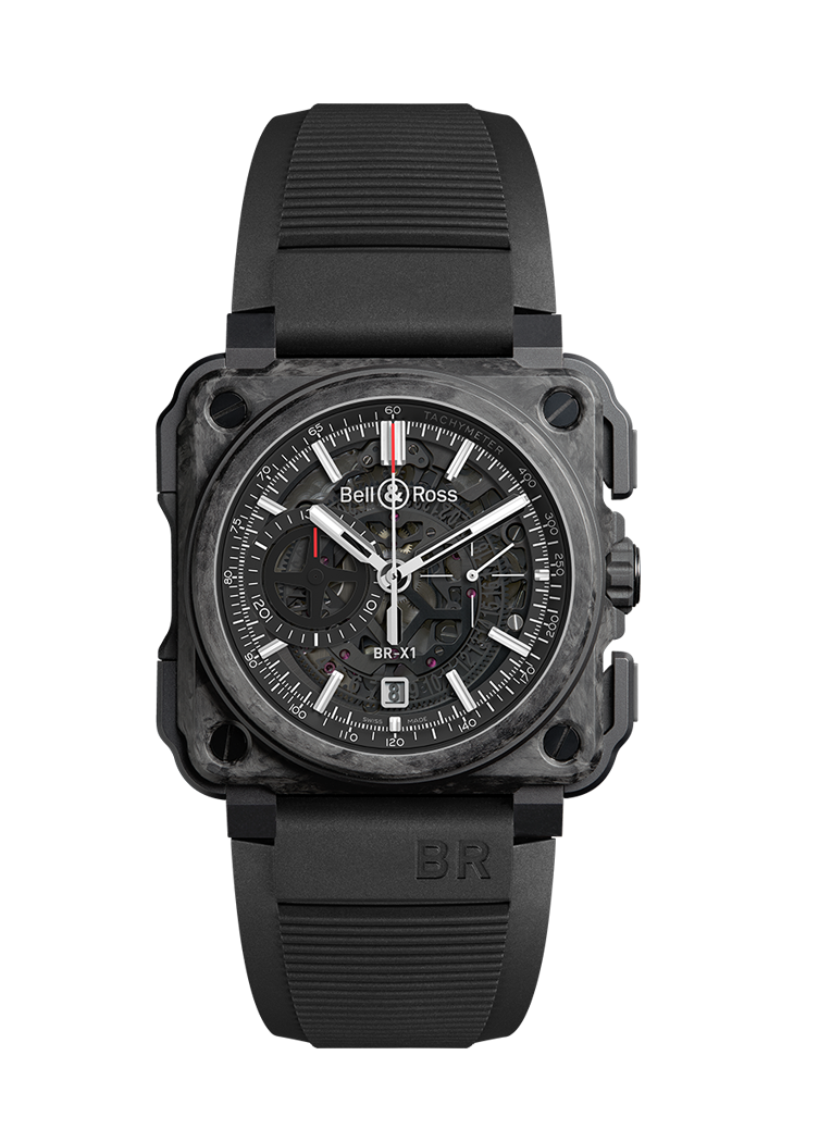 Bell & Ross BR-X1 CARBONE FORGE ® BRX1-CE-CF-BLACK