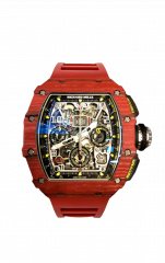 RM 11-03 RED QTPT Flyback Chrono
