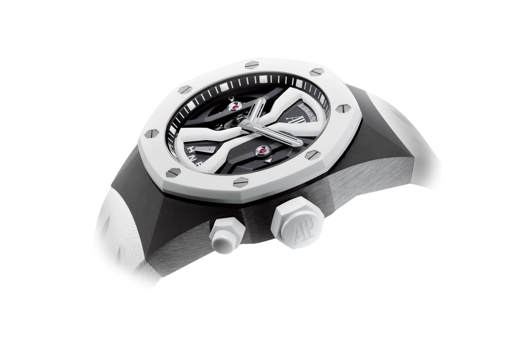 Часы Audemars Piguet TOURBILLON CONCEPT GMT  26580IO.OO.D010CA.01 — additional thumb 1