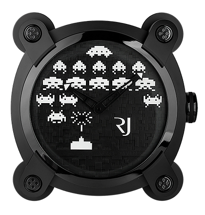 Romain Jerome Space Invaders Wall Clock X.POS.029