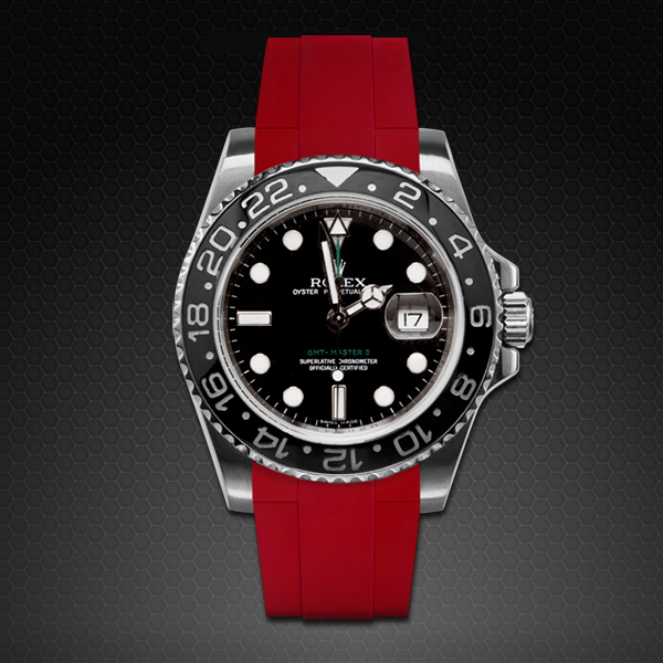Rubber B  GMT Master II Ceramic Classic Series Red Devil M103CD-RD-GMTMII