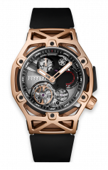 Techframe Ferrari Tourbillon Chronograph King Gold
