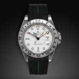 Explorer II 40 Tang Buckle Series VulChromatic Jet Black Forest Green