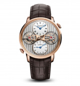 Double Tourbillon Escapement Dual Time