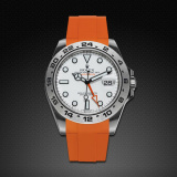 Explorer II New 42 Classic Series Mandarin Orange