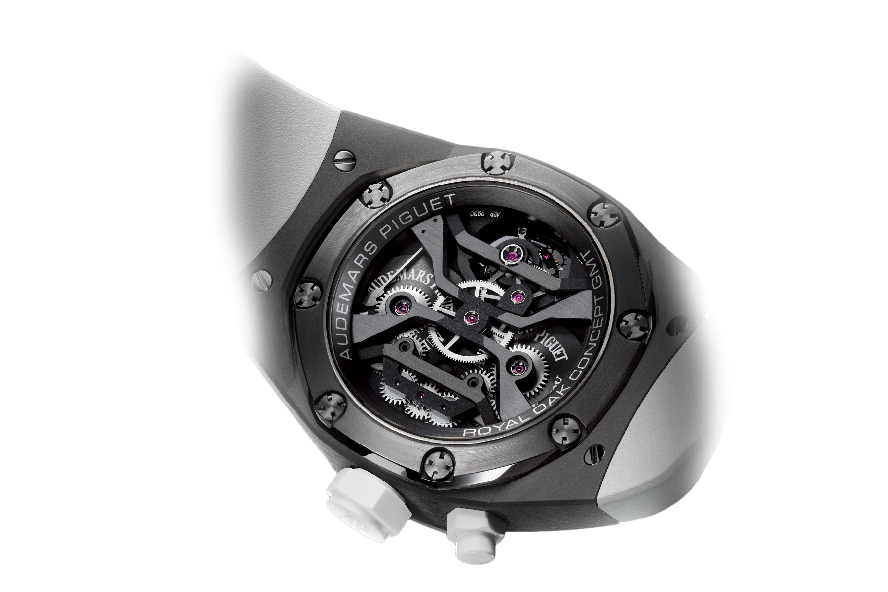 Часы Audemars Piguet TOURBILLON CONCEPT GMT  26580IO.OO.D010CA.01 — additional thumb 3