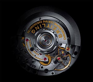 Movements and calibres Breitling